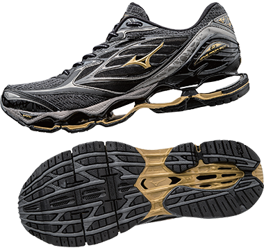 finest selection 18d41 3f0b5 ... mizuno wave prophecy 2 gold Black Gold Metallic Shadow Item Code  J1GC170050 Colour Code B051 ...