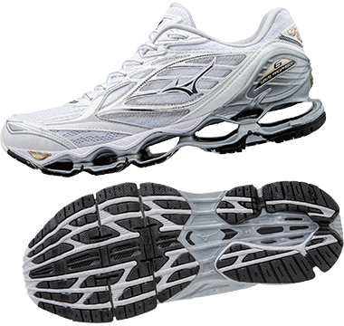 best service 4135b c5794 ... 7 White Silver Gold Item Code J1GD170004 Colour Code B062 Mizuno Wave  Prophecy 4 Men Grey Black ...