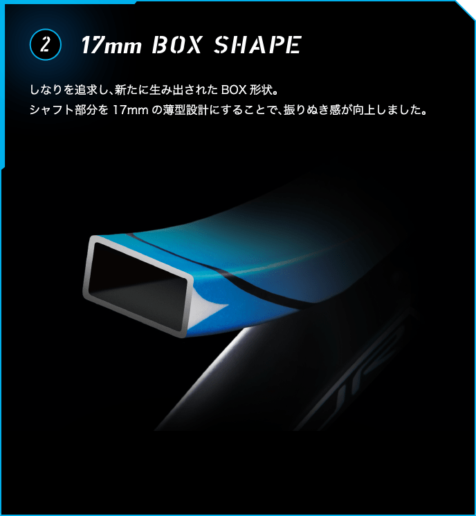 17mm BOX SHAPE