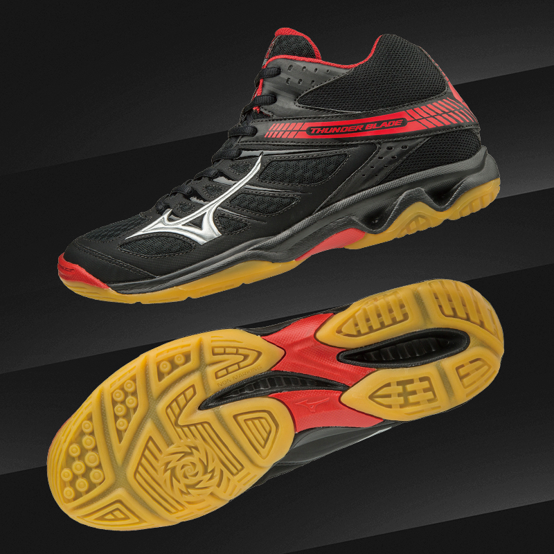 thunderblade mid indoor court shoes