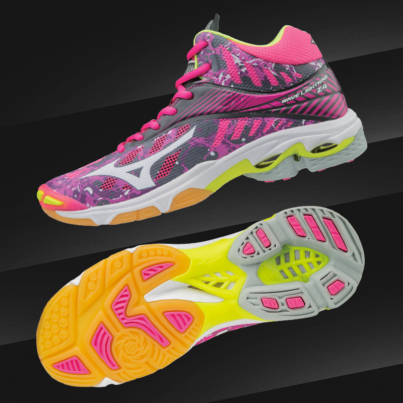wave lightning z4 mid volleyball shoes