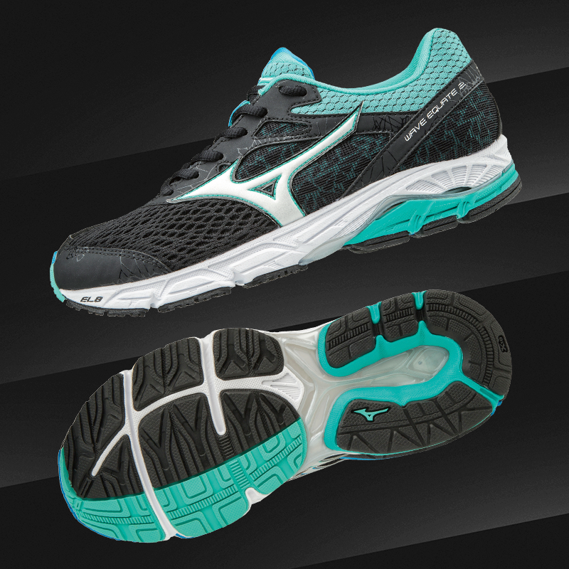 wave equate 2  Black / White / Turquoise J1GD184801