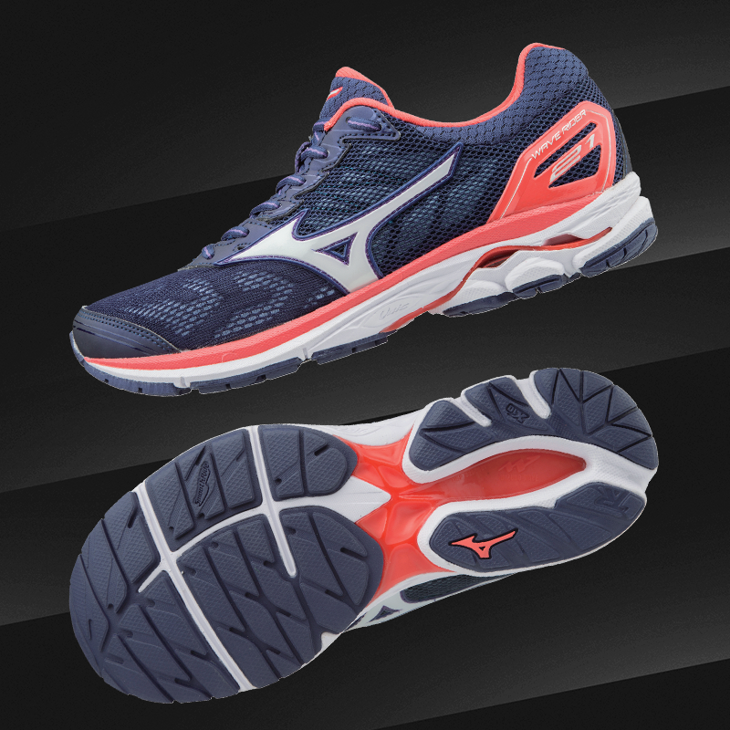 wave rider 21 PATRIOT BLUE / WHITE / HOT CORAL  J1GD180302