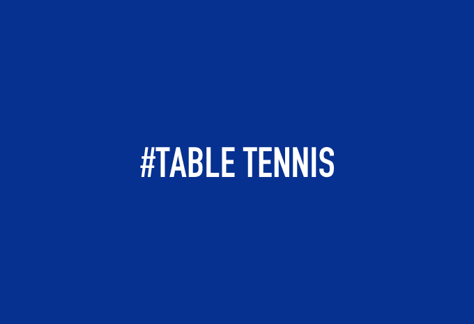 #TABLE TENNIS